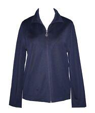Schneider Sportswear Damen Freizeitjacke Jacke Sport Hoodie blau Gr. 40/42