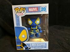 X-Men Deadpool-Marvel-Funko Pop! #20 - X-Men Azul Y Amarillo Disfraz