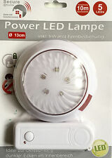 LED Camping Lampe mit Fernbedienung Hänge Touch Lampe Extra Helle Leuchten 5LEDs