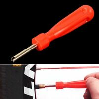 Truck Bicycle Red Tyre Screw Remover Repair Tool Tire Valve Core Tube Installer