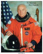 More details for john glenn signed autograph litho photo coa aftal nasa space astronaut