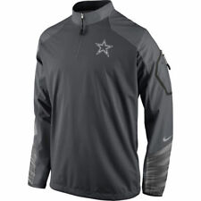 NFL Dallas Cowboys Men's Charcoal Fly Rush 2.0 Performance Jacket, XX-Large