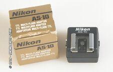 NIKON AS-10 FLASH ADAPTER TTL, NEW