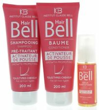 Hairbell Shampooing +Après-shampooing +Booster Sérum Rose Édition