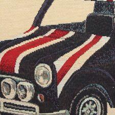 Leinen Optik Retro England Flagge Mini Auto Kissen-panel Polsterstoff