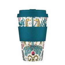 eCoffee Emma J. Shipley Reusable Sustainable Bamboo 12oz 14oz Eco Coffee Cup