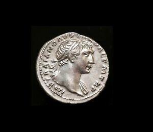#3,TRAJAN. 98-117 AD. AR Denarius