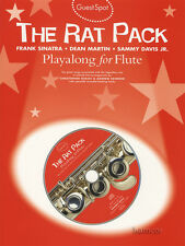 The Rat Pack Playalong for Flute Sheet Music Book/CD Guest Spot