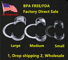 20pcs S/M/L Dental Mouth Opener lip Cheek Retractor BPA FREE Adult Kid Game