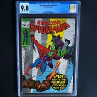 AMAZING SPIDER-MAN #97 (1971) 💥 CGC 9.8 💥 HIGHEST GRADED (1 of ONLY 39)!