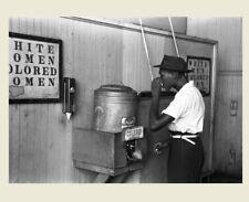 1939 Colored Drinking Fountain PHOTO Black Civil Rights Segregation Oklahoma
