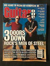 Guitar One Magazine January 2001   3 Doors Down