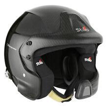 Stilo Helmet WRC DES Carbon Piuma Lid Snell SA2015 & FIA8859-2015 + Hans Posts