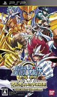 Saint Seiya Omega Ultimate Cosmo PSP Bandai Sony PlayStation Portable From Japan
