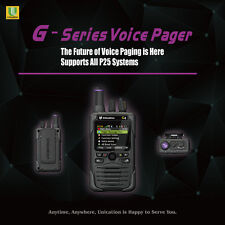 UNICATION G4 700Mhz 800Mhz P25 DIGITAL PAGER MONITOR RECEIVER SCANNER - MINITOR