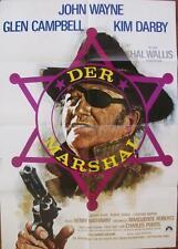 STUNNING WESTERN JOHN WAYNE ORIGINAL TRUE GRIT GERMAN FILM POSTER