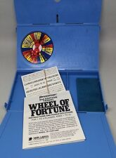 Travel Wheel Of Fortune Game by Pressman 1989 2nd edition Merv Griffin