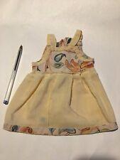 Habit de poupée: robe d'été vintage en coton