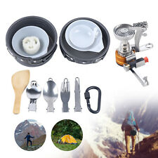 New listing Picnic Cooking Kit Camping Pot Frying Pan Cookware Outdoor Hiking Steam/Boil/Fry