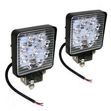 2x LED Arbeitsscheinwerfer 12V 24V bzw. 9-32V 2200 Lumen IP67