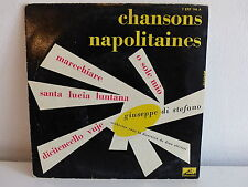 GIUSEPPE DI STEFANO Chansons napolitaines O sole mio 7 ERF 144 A