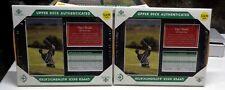 2-Upper Deck Tiger Woods 2000 British Open Champion ScorecardFramed
