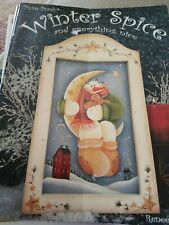 Decorative Tole Painting Pattern Book Winter Spice