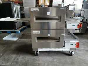 NEW Lincoln Impinger #1132 Double Electric Conveyor Pizza Oven -  208 volt 3 PH
