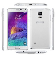 "desbloqueado TELEFONO 5.7"" Samsung Galaxy Note4 N910T 32GB 4G 16MP GPS - Blanco"