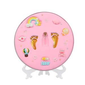 Newborn Baby Handprint Footprint Keepsake Decoration Personalized Infants Clay