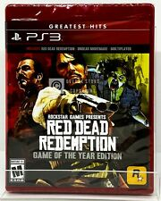 Red Dead Redemption - Game of the Year Edition - PS3 - Brand New | Factory Seale