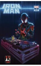 More details for iron man #12 rahzzah miles morales 10th anniversary variant (marvel 2021) comic