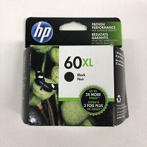 hp 60xl black ink cartridge genuine ll