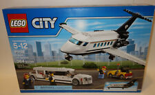 LEGO City Airport VIP Service SET 60102 PRIVATE JET AIRPLANE LIMOSINE LIMO NEW
