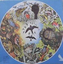 Waddingtons GARDEN BIRDS Circular 500 Piece Jigsaw Puzzle Vintage British