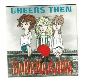 "BANANARAMA ♦ CHEERS THEN + GIRL ABOUT TOWN (12"" REMIXES + NEW INSTR) ▬ LTD CD ♫♫"