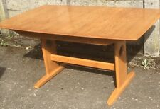 OUTSTANDING LARGE MODERN ERCOL EXTENDING WINDSOR TABLE DELIVERY AVAILABLE