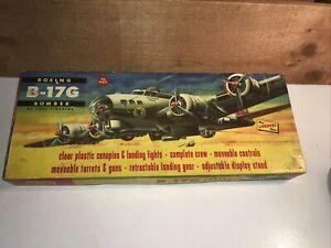 Vintage B-17G BOEING BOMBER The LINDBERG Line Model Plane Kit 525:249 1/8 Scale