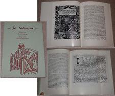 Johannes Labbé pour la loue schreiber mainfränkische cahiers (nº 60) 1973