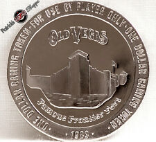 $1 SLOT TOKEN COIN OLD VEGAS CASINO 1983 FM FRANKLIN MINT LAS VEGAS NEVADA NEW