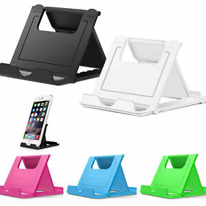For Cell Phone Mini Desk Office Phone Universal Stand Mount Dock Durable Folding