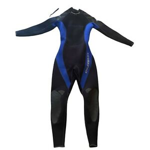 Womens Scubapro  Full Wetsuit L/42 3mm Black and Blue