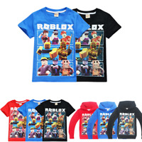Us 52 37 Offchildren Roblox Game Tee Tops Boy Summer Short T Shirt Clothes Girls Casual White Tshirt For Kids T Shirt Costume Baby Tx100 In Roblox Boys Girls Kids Cartoon Short Sleeve T Shirt Tops Summer Casual Costumes Ebay