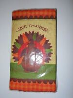 Amscan Give Thanks Paper Guest Towels & Buffet Napkins  FREE SHIPPING