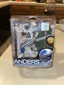 McFarlane Barry Sanders Detroit Lions #202/2000 Series 28 Variant Chase WhiteNM+