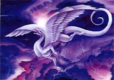 Storm Dancer Dragon  - 3D Postcard Lenticular Greeting Card