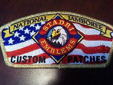 MINT JSP Stadri Emblems Custom Patches GMY Border