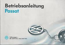 VW Passat B5 Betriebsanleitung 1995 Bedienungsanleitung Handbuch Bordbuch BA