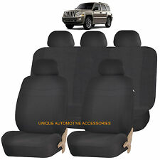 BLACK ELEGANCE AIRBAG COMPATIBLE SEAT COVER for JEEP WRANGLER PATRIOT
