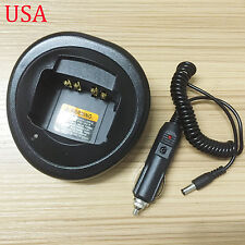 12V Car Charger Base for Motorola GP380 GP328plus GP338plus MTX950 MTX9250
